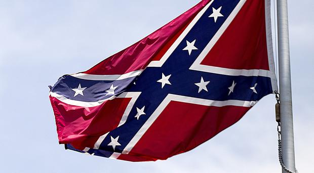 A number of Confederate flags have been spotted around Belfast.