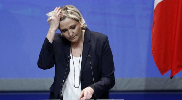 Marine Le Pen is appealing the decision to withhold funds from her party (AP Photo/Michel Spingler)