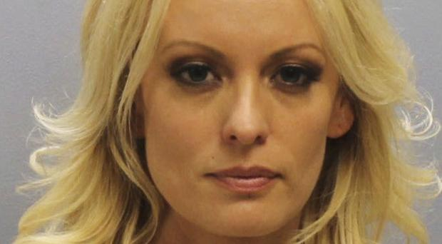 Stormy Daniels was arrested at an Ohio strip club. (Franklin County Sheriff's Office via AP)