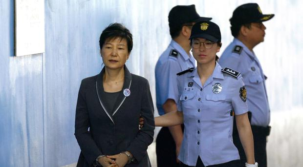 Park Geun-hye. (AP Photo/Ahn Young-joon, File)
