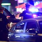 Police at the scene of the Toronto shooting (Frank Gunn/AP)