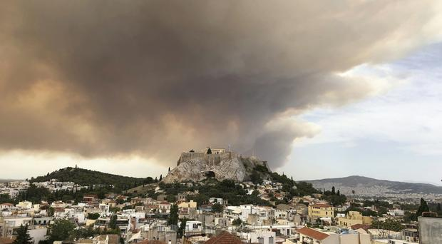 Lots of Greece is still safe for travel (Theodora Tongas/AP)