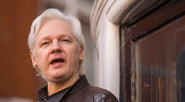 Julian Assange sought political asylum to prevent his extradition to the US (Dominic Lipinski/PA)