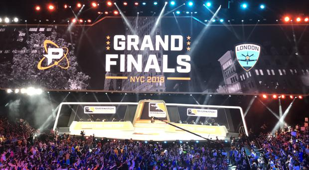 The Overwatch League grand finals are underway (Martyn Landi/PA)