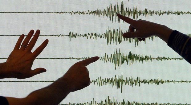 A strong earthquake has hit Indonesia (David Cheskin/PA)