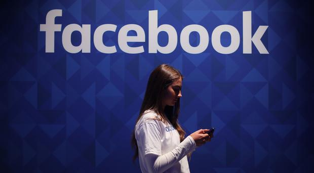 Facebook has denied claims that it asked several large US banks to share financial information about customers (Niall Carson/PA)