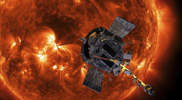 The Parker Solar Probe is designed to take solar punishment (Steve Gribben/Johns Hopkins APL/NASA via AP)
