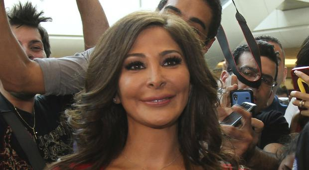 Lebanese diva Elissa is one of the best known and highest-selling female artists in the Arab world (STR/AP)