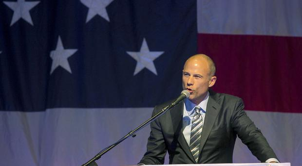 Michael Avenatti is weighing up a bid for the White House (AP)