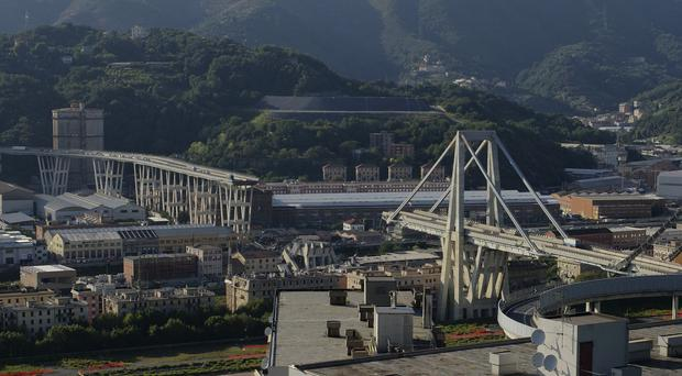 The Morandi Bridge (AP)