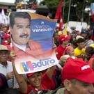 Nicolas Maduro was unharmed by the incident (AP Photo/Ariana Cubillos)