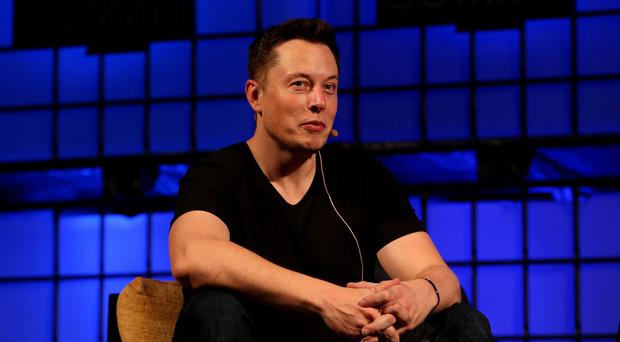 Tesla chief Elon Musk (Brian Lawless/PA)