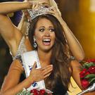 Cara Mund is named Miss America (AP Photo/Noah K. Murray, File)