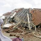 The aftermath of the August 5 earthquake on Lombok (Firdia Lisnawati/AP)