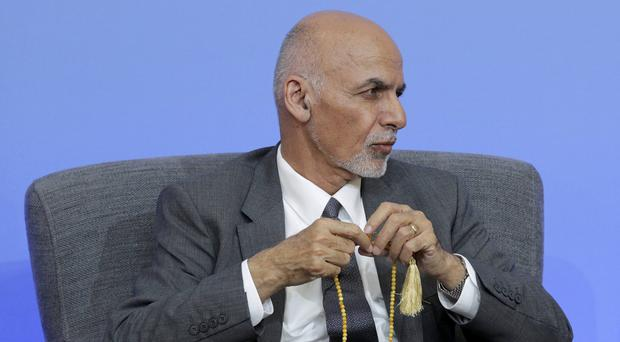 Afghan President Ashraf Ghani called for a ceasefire with the Taliban during the Eid holiday (Paul Hackett/PA)