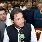 Pakistan's new prime minister, Imran Khan (Pakistan National Assembly/AP)