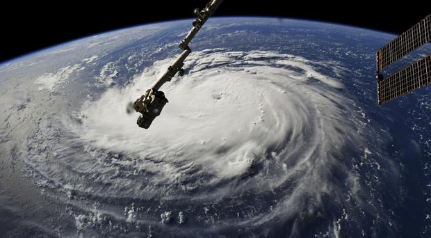 Hurricane Florence is expected to grow in intensity (NASA via AP)