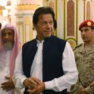 Imran Khan, pictured during a visit to Saudi Arabia (Saudi Press Agency/AP)