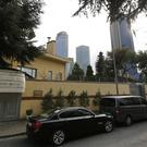 A view of Saudi Arabia's consulate in Istanbul (Lefteris Pitarakis/AP)