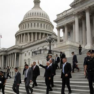 The US Mid Terms will decide the make-up of the Senate (Alex Brandon)