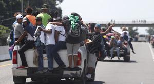 Central American migrants making their way to the US (AP)