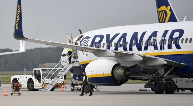 Ryanair plane (AP Photo/Martin Meissner, file)