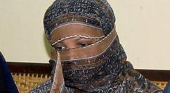 Asia Bibi was acquitted after being sentenced to death for blasphemy (AP Photo, File)