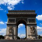 A general view of the Arc de Triomphe (John Walton/PA)