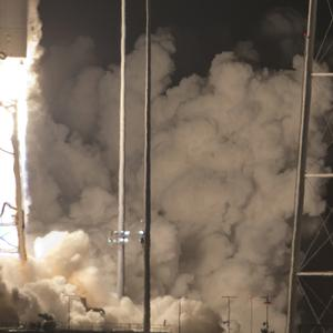 Northrop Grumman Antares rocket lifts off (AP Photo/Steve Helber)