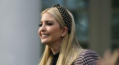 Ivanka Trump is said to have sent emails about White House business from a personal account (Carolyn Kaster/AP)
