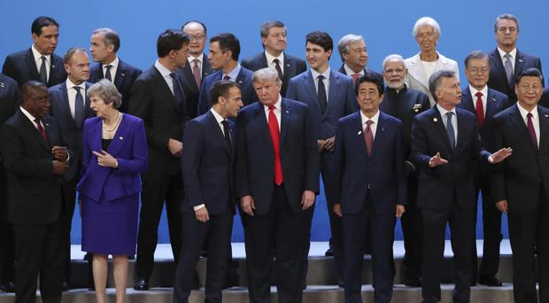 G20 Summit Opens In Argentina Amid Ukraine Crisis