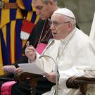 Pope Francis has removed two cardinals from his cabinet (Andrew Medichini/AP)