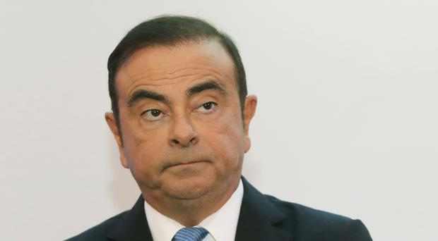 Former Renault chief Carlos Ghosn (Michel Euler/AP)