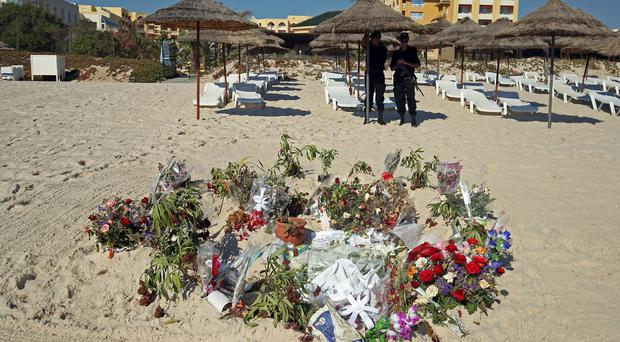 Thirty Britons died in the Sousse resort massacre in 2015 (Steve Parsons/PA)