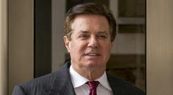 Paul Manafort, President Donald Trump's former campaign chairman (Andrew Harnik/PA)