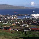 Torshavn in the Faroe Islands (David Davies/PA)