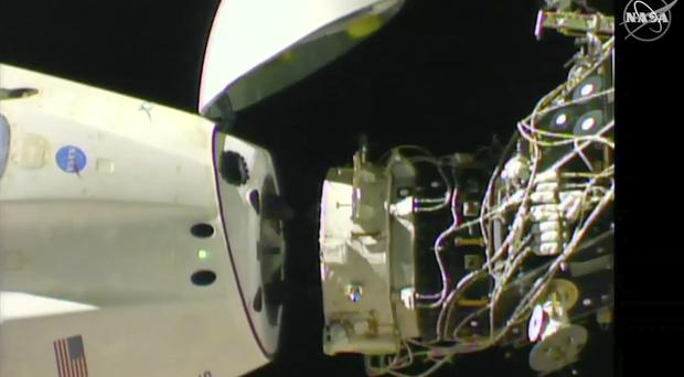 SpaceX capsule departs International Space Station for