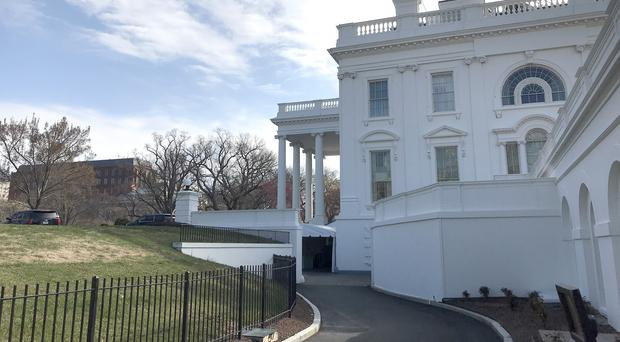An external view of the White House (Michelle Devane/AP)