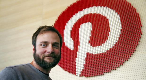 Evan Sharp, Pinterest's co-founder and chief product officer (Ben Margot/AP)