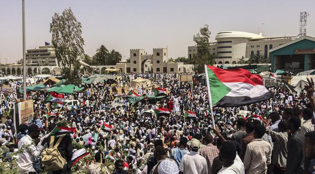 Demonstrations have taken place in Sudan's capital Khartoum (AP)