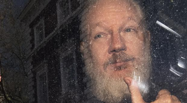 Julian Assange (Victoria Jones/PA)