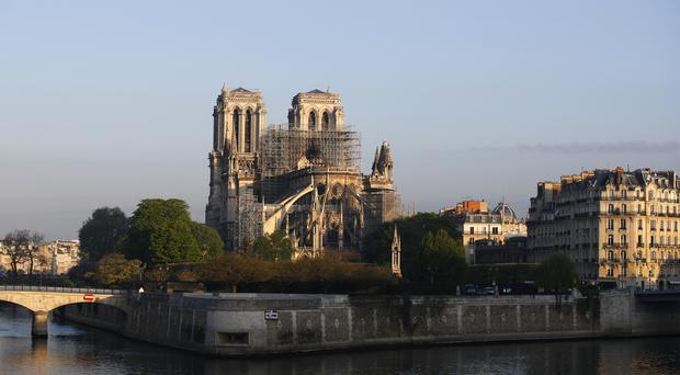 Notre Dame cathedral (AP)