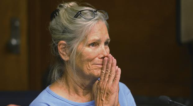 Leslie Van Houten is serving a life sentence and has been recommended for release twice before (Stan Lim/Los Angeles Daily News via AP, Pool, File)