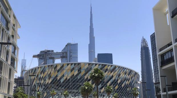 The world's tallest building, Burj Khalifa, in Dubai (Kamran Jebreili/AP)