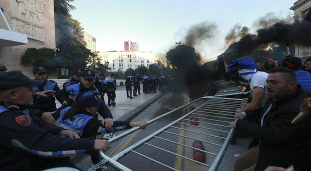 Protests have continued in Albania (AP/Hektor Pustina)