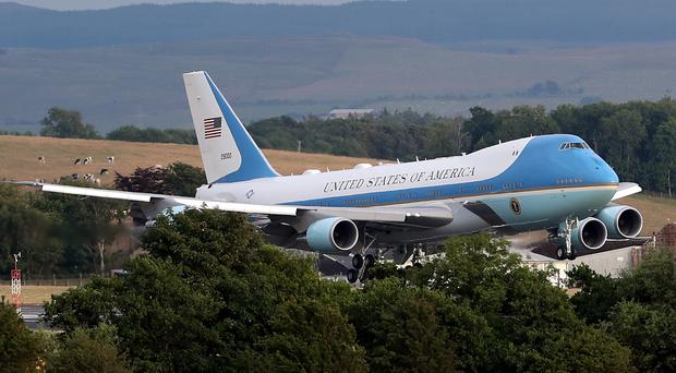 Air Force One (Andrew Milligan/PA)