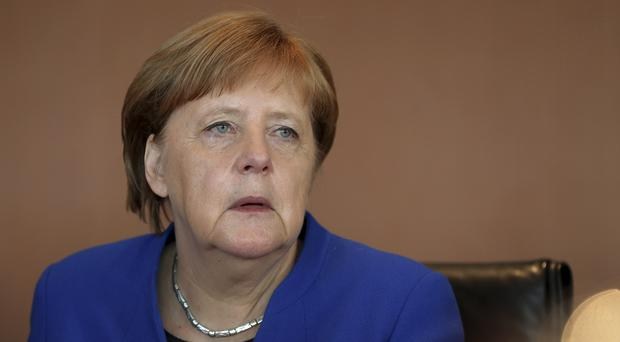 German Chancellor Angela Merkel has welcomed European unity on Iran (Michael Sohn/AP)