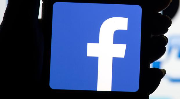 The Facebook logo (Dominic Lipinski/PA)
