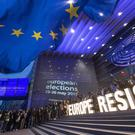Turnout was at a two-decade high for ballots across all 28 European Union countries (Ermindo Armino/AP for Avaaz)