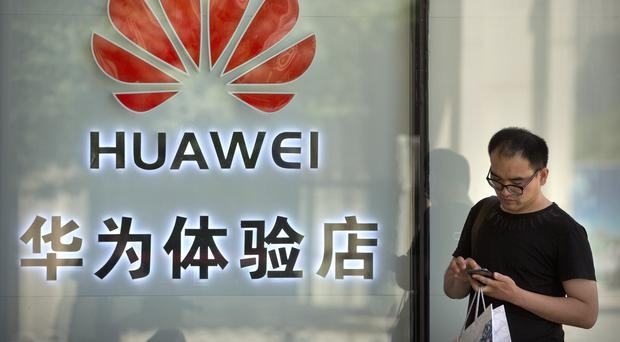 Huawei is challenging the constitutionality of a law that limits its sales of telecom equipment (AP/Mark Schiefelbein)